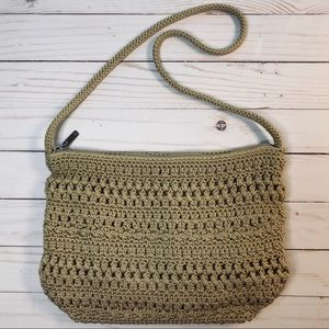 Crochet Bohemian Purse Shoulder Bag by The Sak